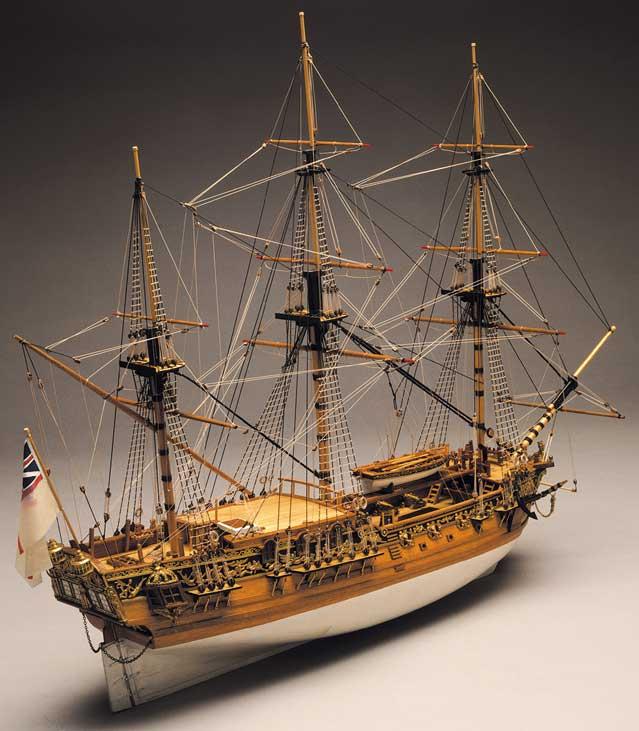 Ship Model Royal Caroline Wooden Kit Panart Victoryshipmodels