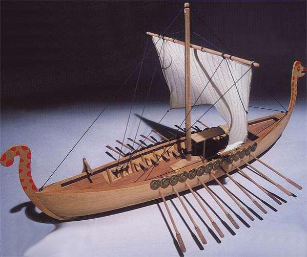Ship model Viking, wooden kit Mantua - VictoryShipModels.com | Wooden model ship kits